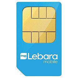 Lebara Official Pay as you Go Sim Card